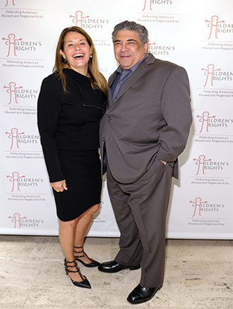 Pictured: Lorraine Bracco and Vincent Pastore