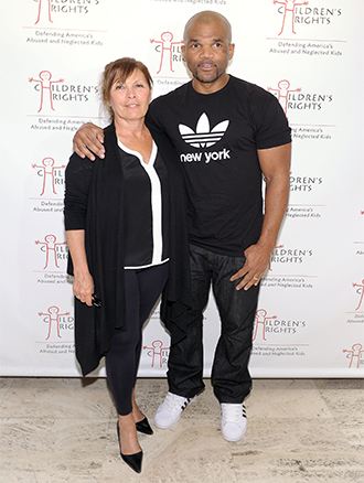 "Pictured: Honoree Sheila Jaffe and Darryl ""DMC"" McDaniels"