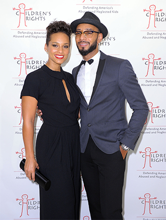 Pictured: Alicia Keys and Swizz Beatz
