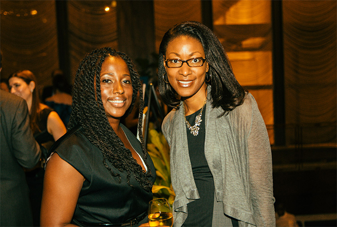 Pictured: Keesha Wallace and Gina Stikes, BET-38 Pictured: Keesha Wallace and Gina Stikes, BET