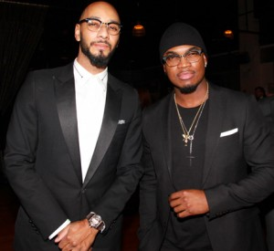 Kasseem 'Swizz Beatz' Dean and Shaffer 'Ne-Yo' Smith