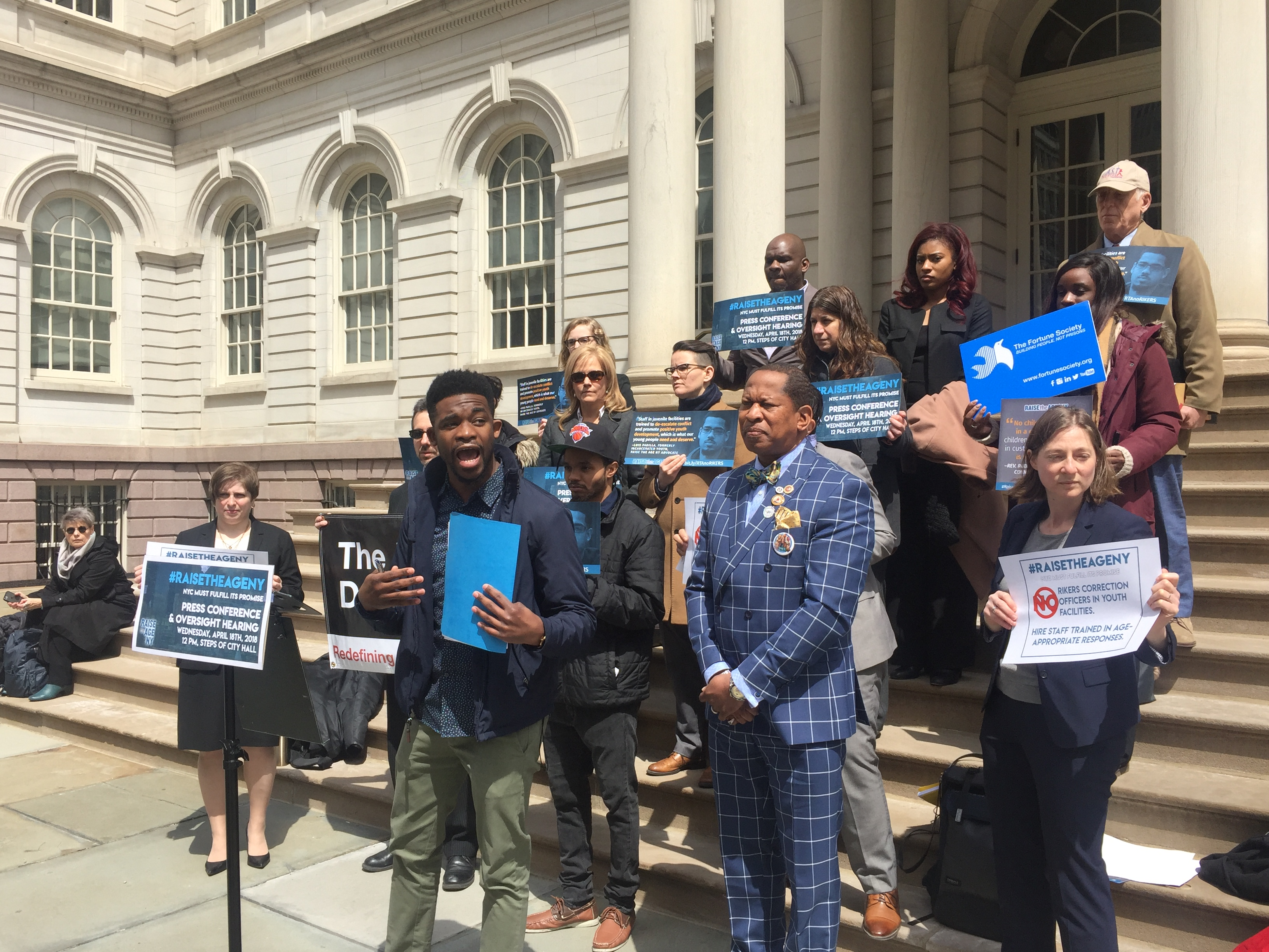NYC Must Improve Juvenile Justice Conditions