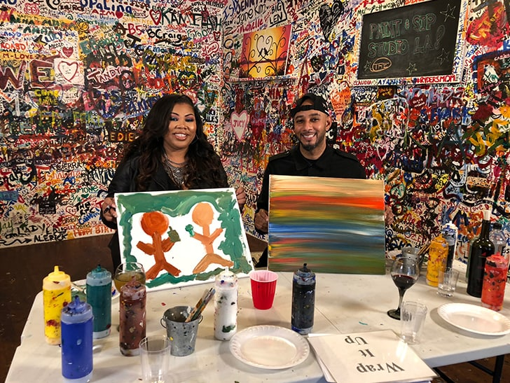 Swizz Beatz Auctions Off Painting to Raise Funds for Children's Rights