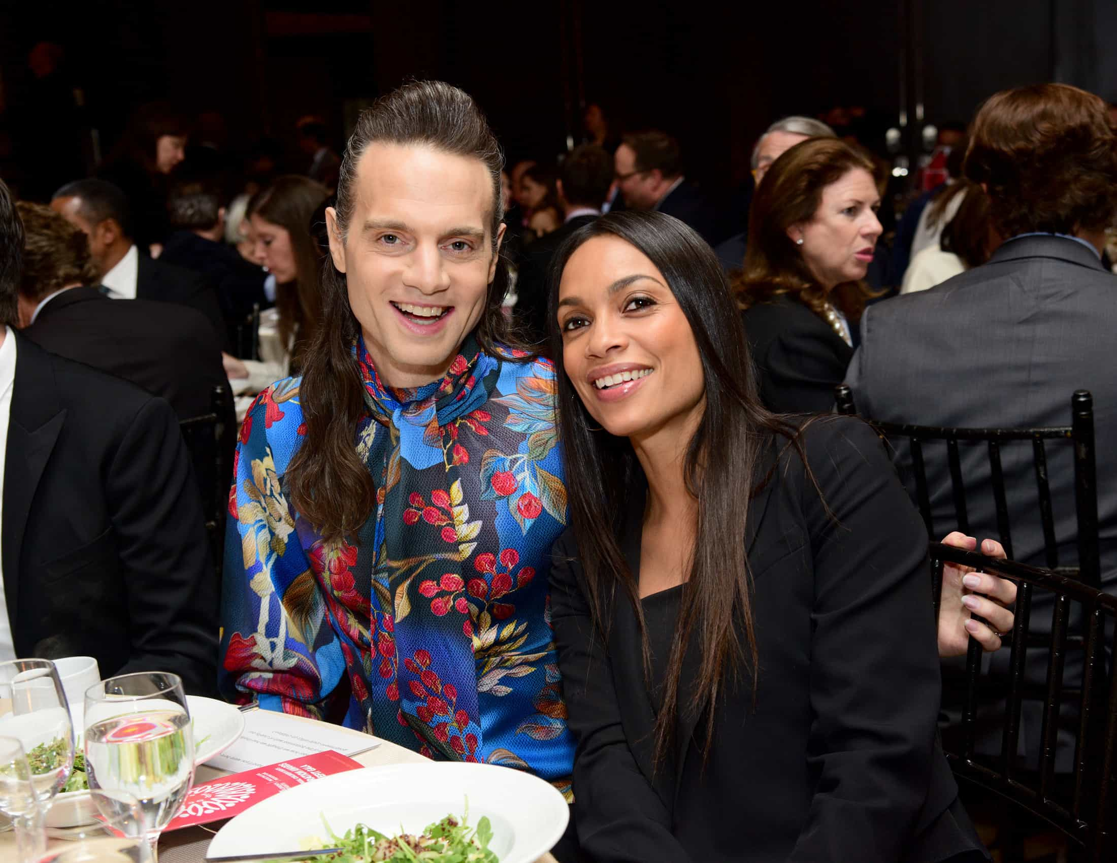 Jordan Roth and Rosario Dawson Help Break Fundraising Records at Children's Rights' Annual Gala