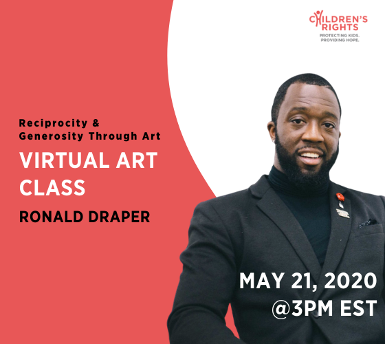 Virtual Art Class with Award-Winning Visual Artist