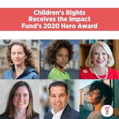 Children's Rights Receives the Impact Fund's 2020 Hero Award