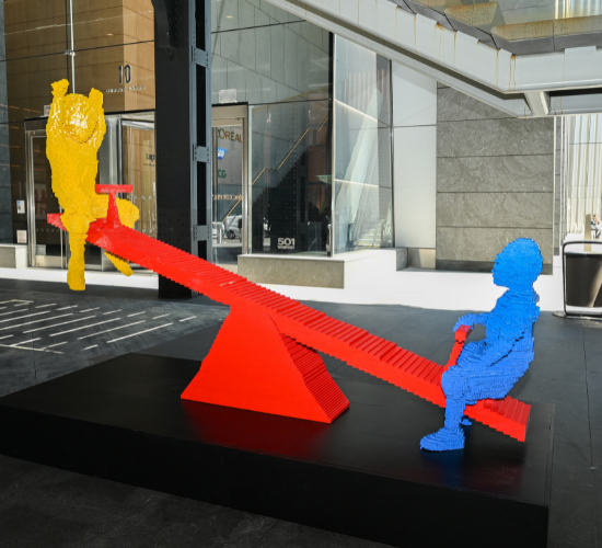 Matter Unlimited Delivers with 'Bricks for Kids' Installation to Raise Awareness of Children's Mental Health