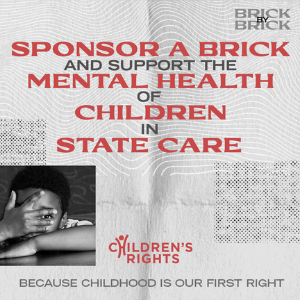 Name your brick and support child mental health